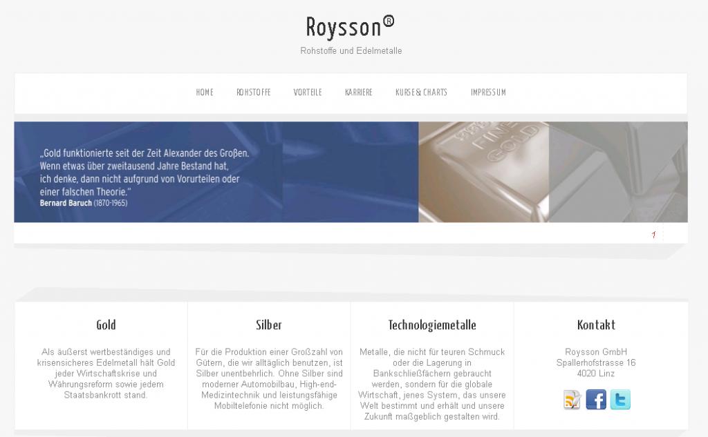 Roysson
